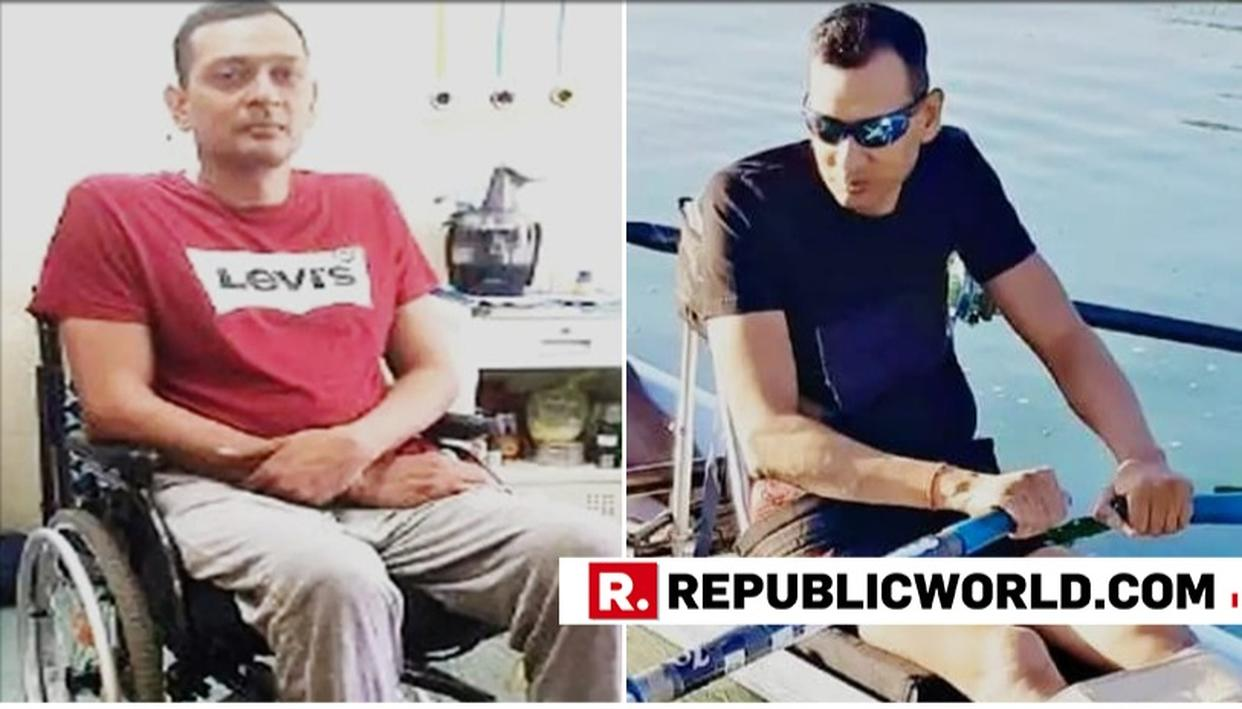 IAF HAILS WING COMMANDER SHANTANU FOR REPRESENTING COUNTRY IN INTERNATIONAL PARA-ROWING EVENT, SAYS HE SHOWS THE FORCES' NEVER-GIVE-UP SPIRIT