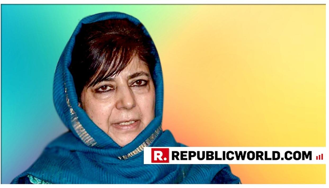 BIZARRE | AS INDIA'S UNBEATEN WORLD CUP RUN ENDS AGAINST ENGLAND, MEHBOOBA MUFTI GOES BACK TO POLITICISING, BLAMES IT ON THE ORANGE JERSEY
