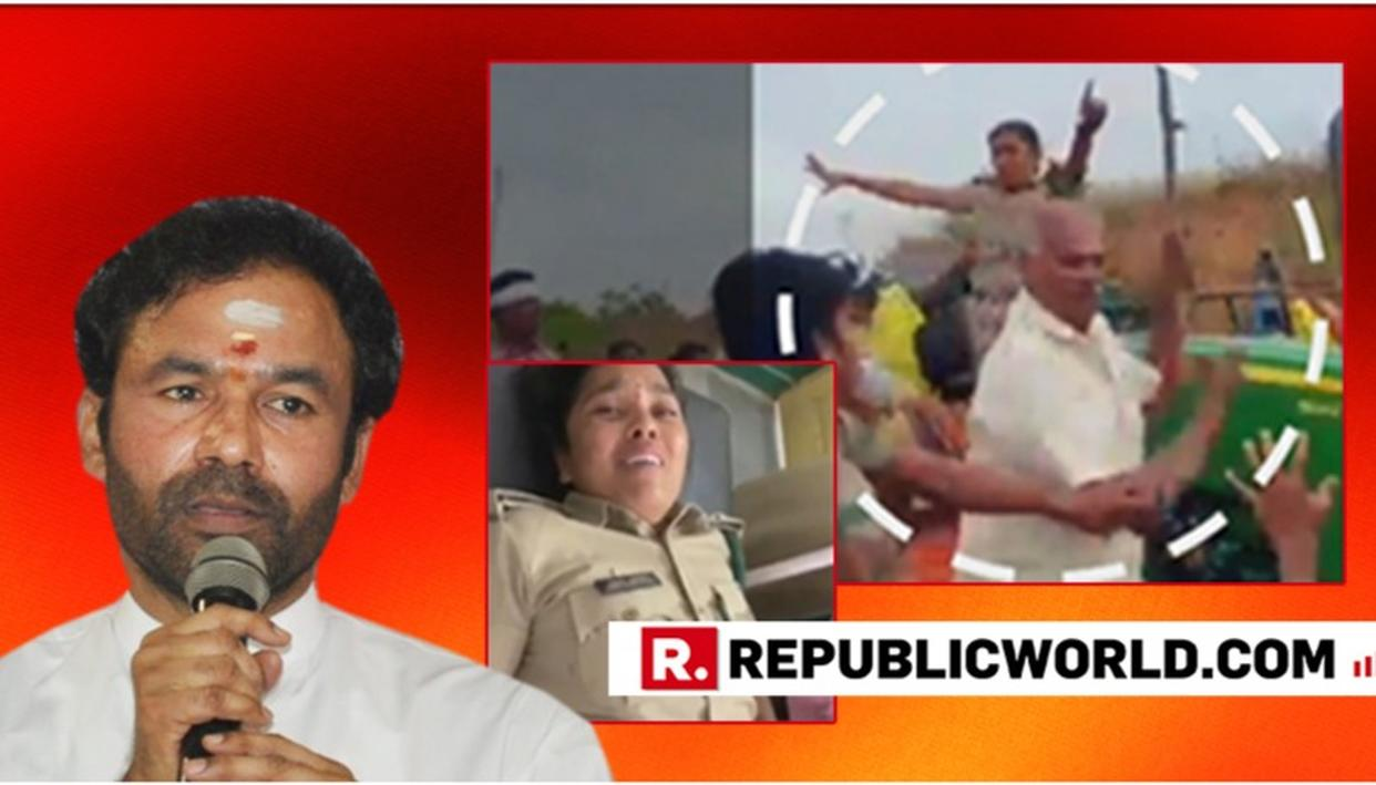 "WATCH: ""TRS WORKERS ARE MISUSING POWER,"" SAYS UNION MOS FOR HOME AFFAIRS KISHEN REDDY OVER ATTACK ON LADY FOREST OFFICER BY TRS MOB IN TELANGANA"