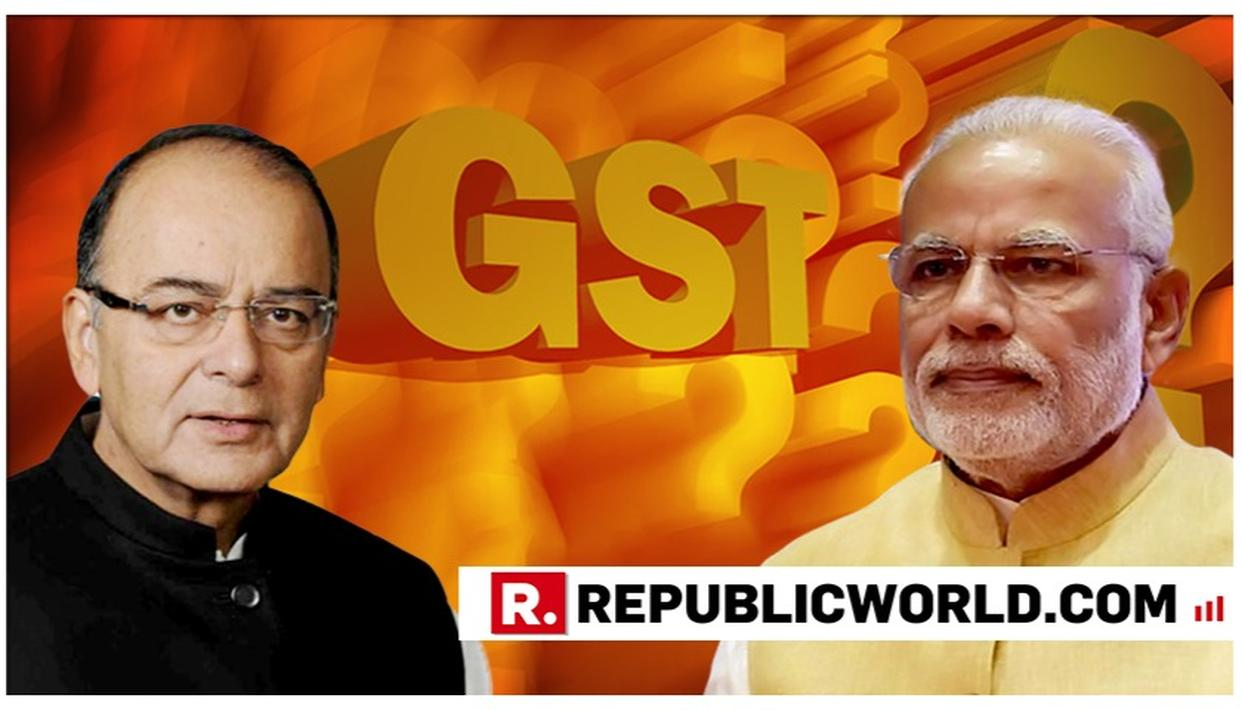 PM MODI SECONDS ARUN JAITLEY AS GST'S ROLLOUT COMPLETES 2 YEARS