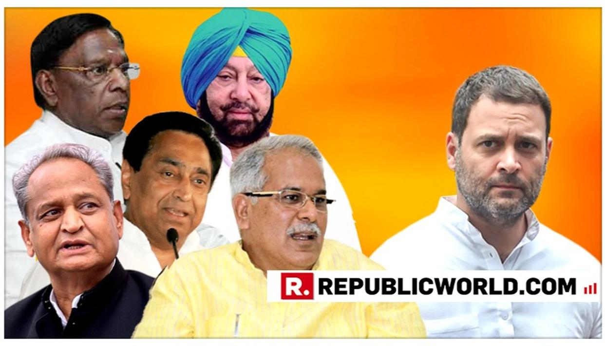 NOW, CHIEF MINISTERS OF CONGRESS-RULED STATES MEET RAHUL GANDHI AND PLEAD WITH HIM TO REMAIN PARTY PRESIDENT