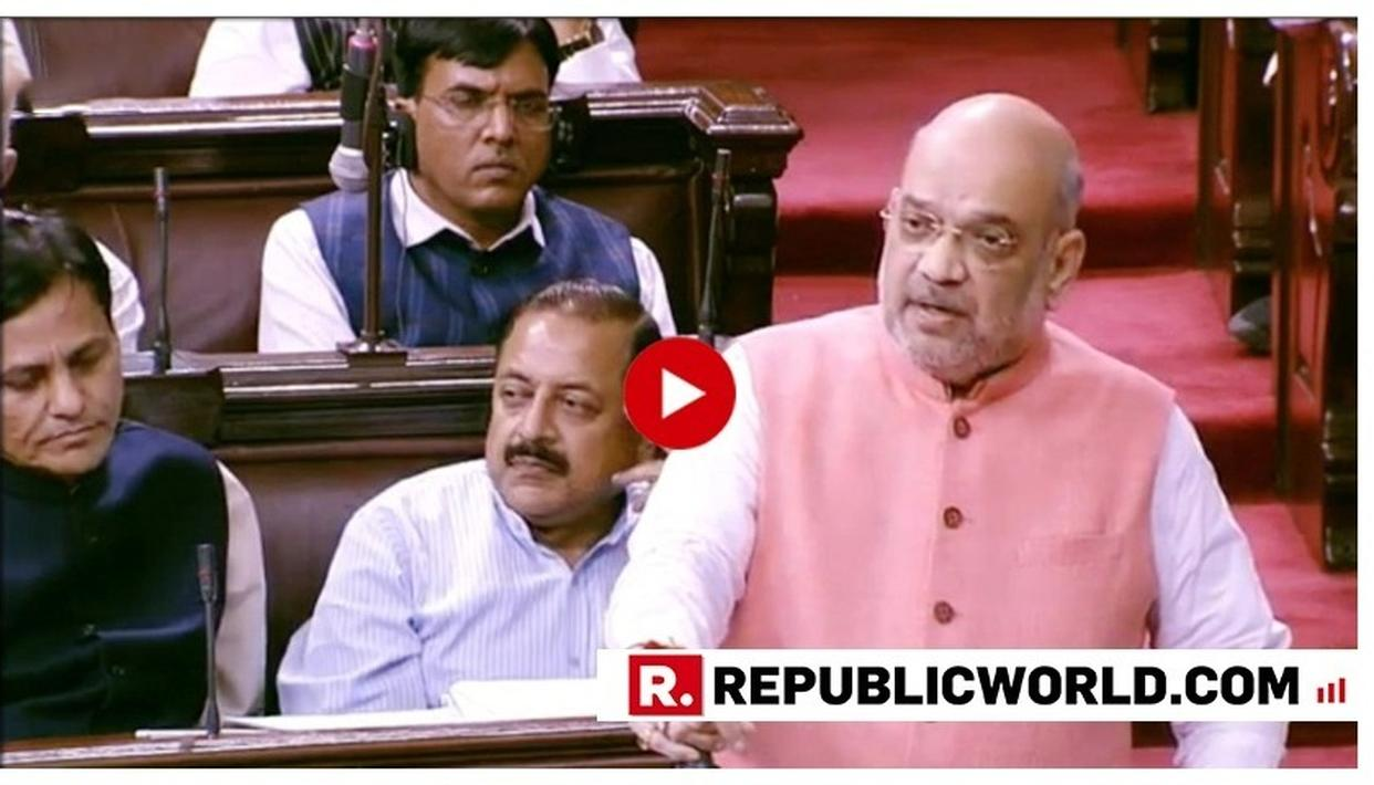 WATCH: HOME MINISTER AMIT SHAH TAKES ON J&K SEPARATISTS, SAYS 'OUR APPROACH IS CLEAR- THOSE TRYING TO BREAK INDIA WILL GET ANSWER IN KIND'