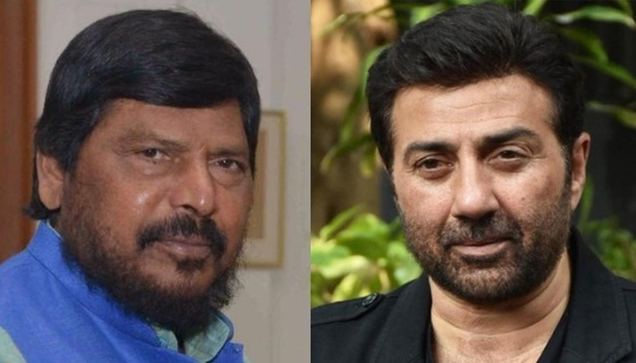 """WATCH: AS SUNNY DEOL OUTSOURCES GURDASPUR MP RESPONSIBILITIES, BJP ALLY RAMDAS ATHAWALE SAYS """"HE WORKS IN FILMS, HE DOESN'T KNOW MUCH"""""""