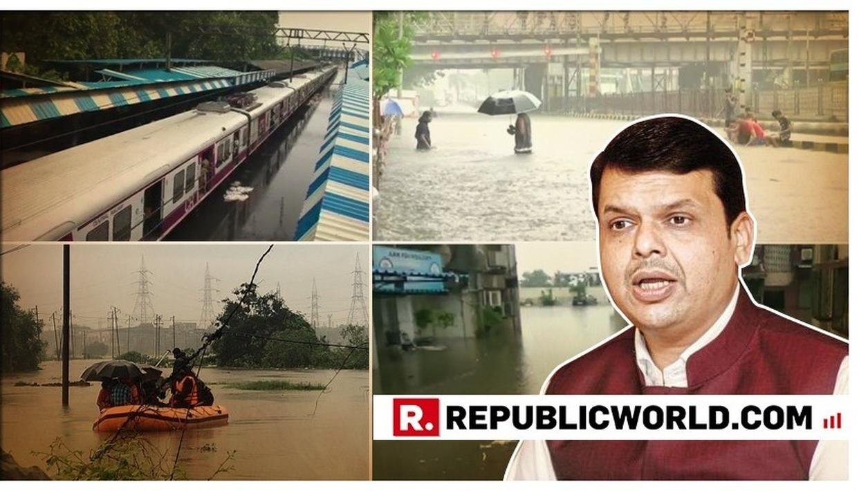 WOULD ASK BMC TO FRAME POLICY FOR TIME-BOUND CLEANING OF DRAINS: MAHARASHTRA CM DEVENDRA FADNAVIS
