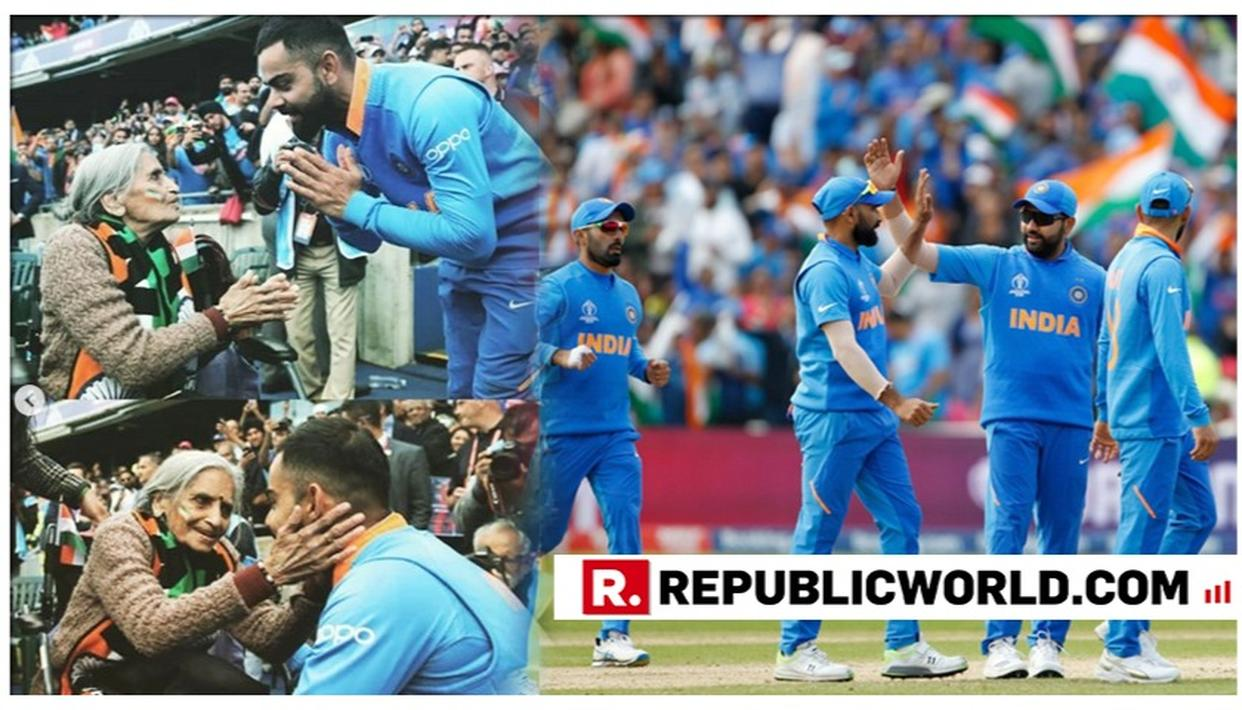 WORLD CUP 2019: VIRAT KOHLI SEEKS BLESSINGS OF HIS 87-YEAR-OLD FAN