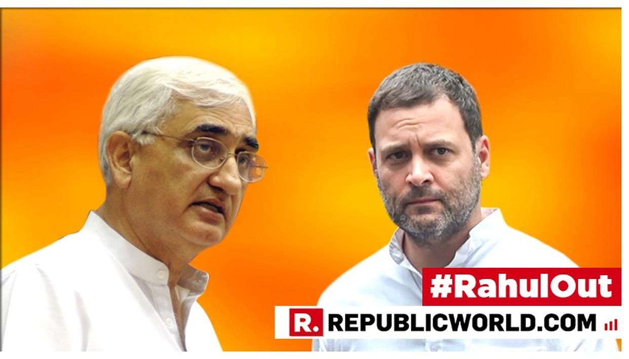 RAHUL GANDHI RESIGNS | SALMAN KHURSHID CONFIRMS RESIGNATION EYEWASH, STATES 'THERE IS A NATURAL STANDING THAT RAHUL GANDHI AND SONIA GANDHI WILL CONTINUE TO HAVE'