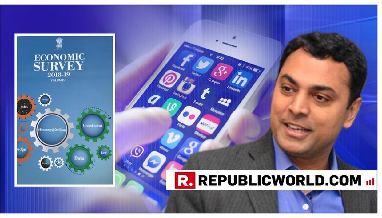 BUDGET 2019: CEA KRISHNAMURTHY SUBRAMANIAN SAYS 'GOVERNMENT SHOULD INVEST MAJORLY IN DATA TO ENHANCE THE PUBLIC GOOD'