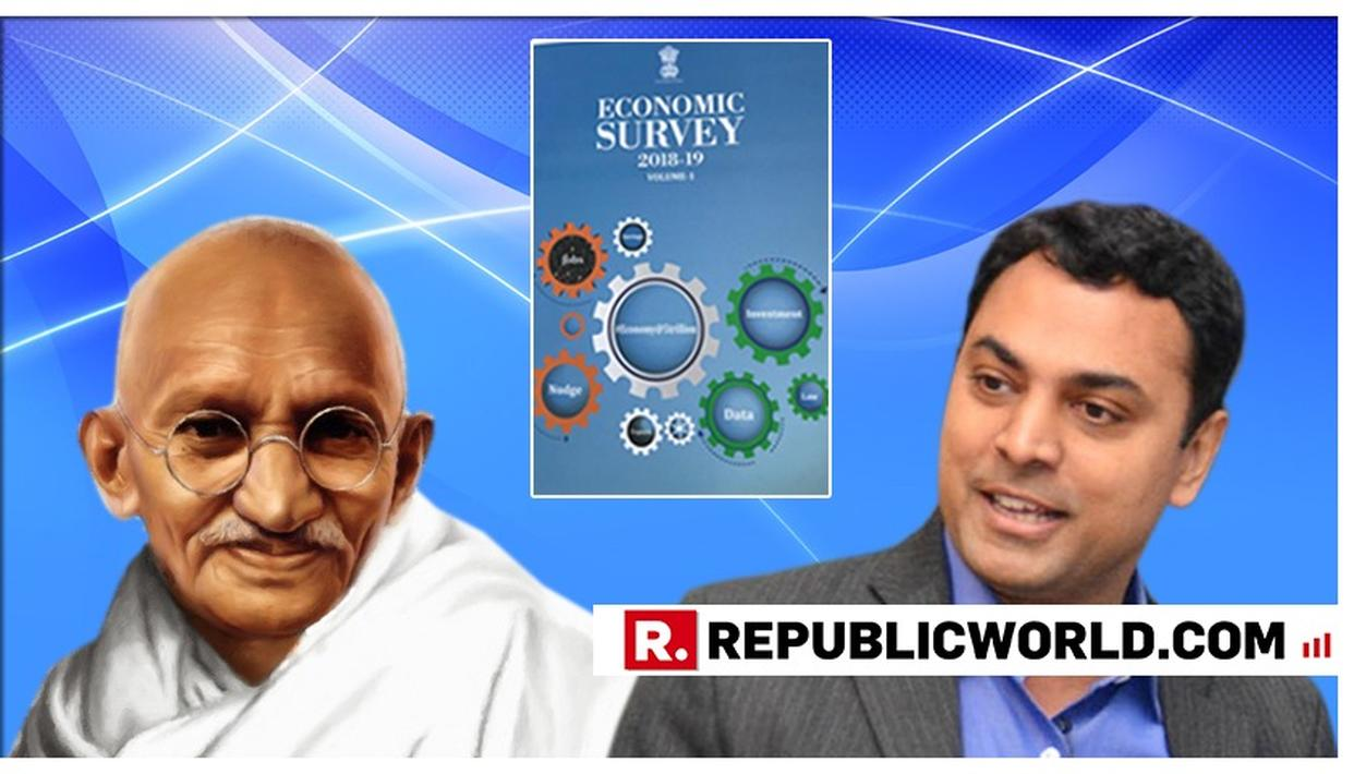 ECONOMIC SURVEY 2019 FEATURES MAHATMA GANDHI'S 7 SOCIAL SINS AND IS INSPIRED BY BAPU'S TALISMAN; CEA KRISHNAMURTHY SUBRAMANIAN EXPLAINS