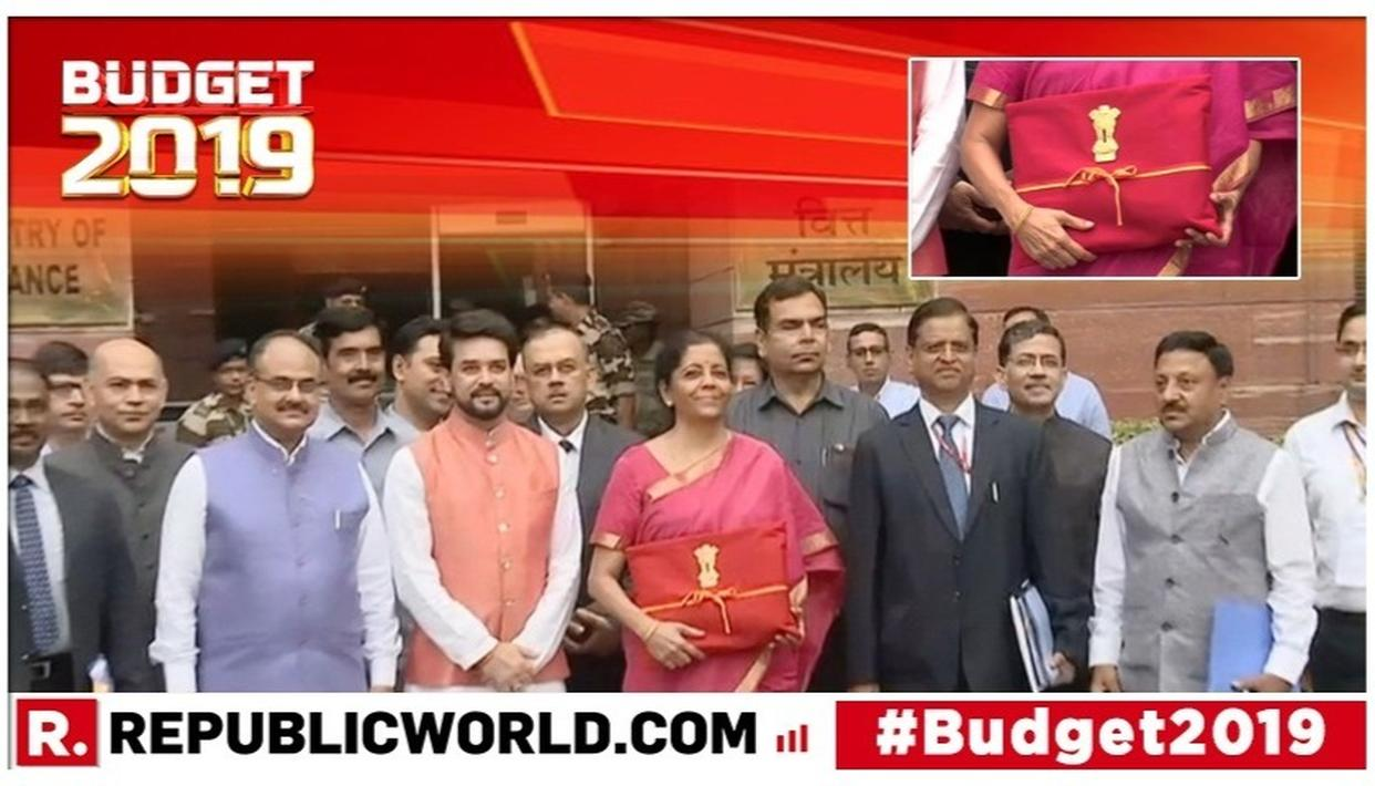 UNION BUDGET 2019: NIRMALA SITHARAMAN'S RED BUDGET LEDGER'S STORY REVEALED, HERE'S WHY THE FINANCE MINISTER DUMPED THE LEATHER BRIEFCASE