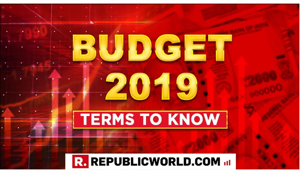 UNION BUDGET 2019: THESE ARE THE BUDGET TERMS TO KNOW TO UNDERSTAND NIRMALA SITHARAMAN'S SPEECH BETTER