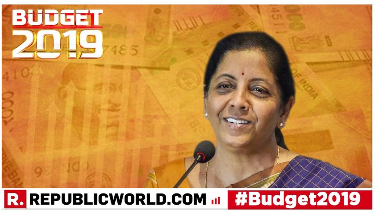 UNION BUDGET 2019: HERE'S WHAT THE AAM AADMI CAN EXPECT FROM FINANCE MINISTER NIRMALA SITHARAMAN'S BUDGET SPEECH