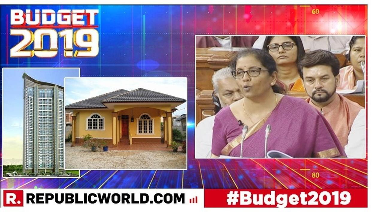 UNION BUDGET 2019: NIRMALA SITHARAMAN ANNOUNCES BIG RENTAL HOUSING REFORM, SAYS LESSOR-LESSEE RELATIONSHIP NOT ADDRESSED FAIRLY AT PRESENT