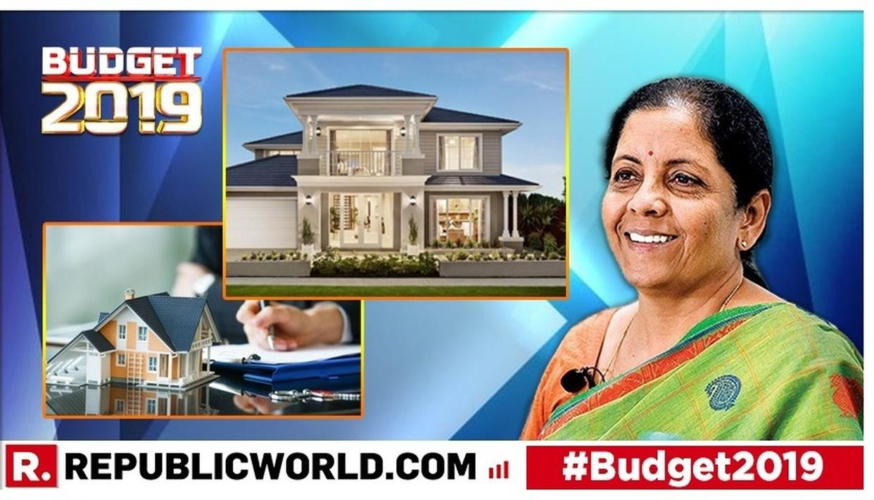 UNION BUDGET 2019: INCENTIVE FOR AFFORDABLE HOME BUYERS, ADDITIONAL RS 1.5 LAKH DEDUCTION ON INTEREST PAID ANNOUNCED