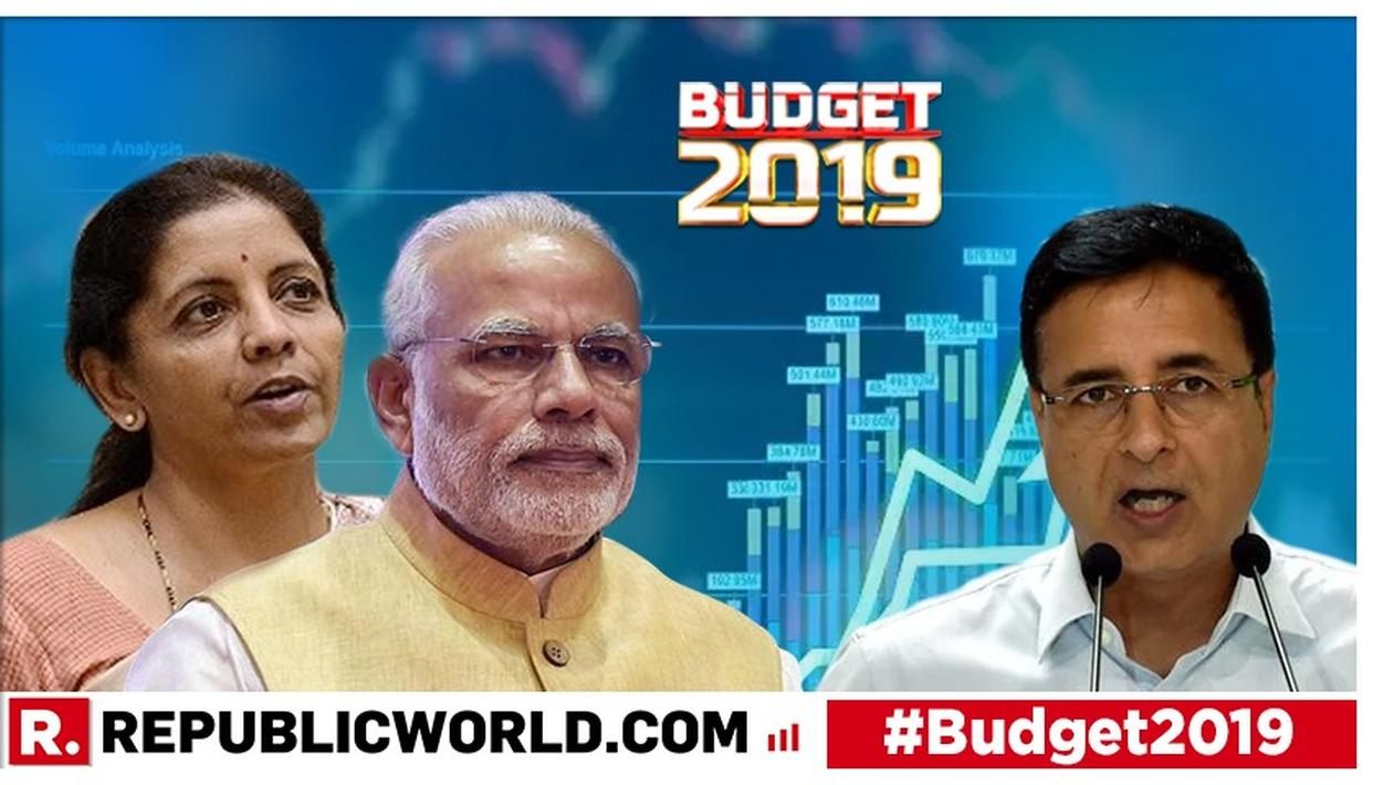 UNION BUDGET 2019 | CONGRESS LEADER RANDEEP SURJEWALA ATTACKS THE BUDGET, CALLS IT LACKLUSTRE, NONDESCRIPT AND DIRECTIONLESS