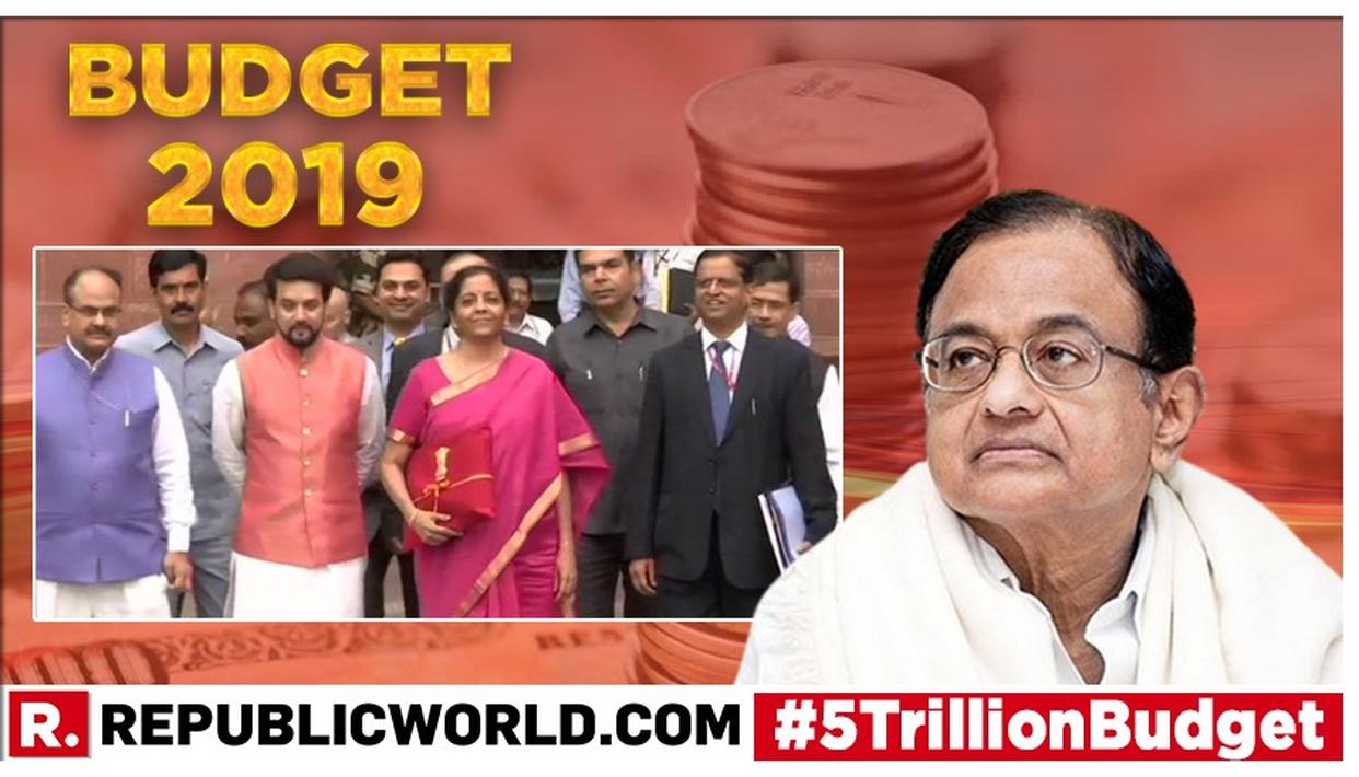 UNION BUDGET 2019 | 'FUTURE CONGRESS FINANCE MINISTER WILL BRING IPAD': P CHIDAMBARAM UNIMPRESSED BY NIRMALA SITHARAMAN'S RED BUDGET FOLIO