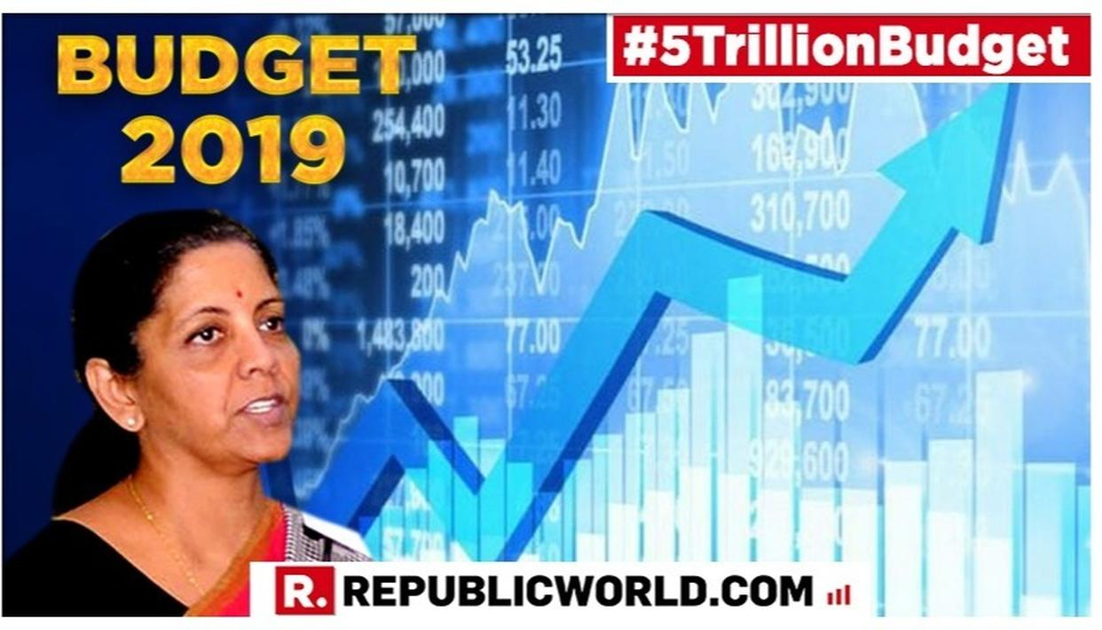UNION BUDGET 2019 ON STOCK MARKETS: NIRMALA SITHARAMAN CONFIDENT OF 'BRIGHT MONDAY AFTER BUDGET DOCUMENTS ARE STUDIED' FOLLOWING BOURSES ENDING IN THE RED