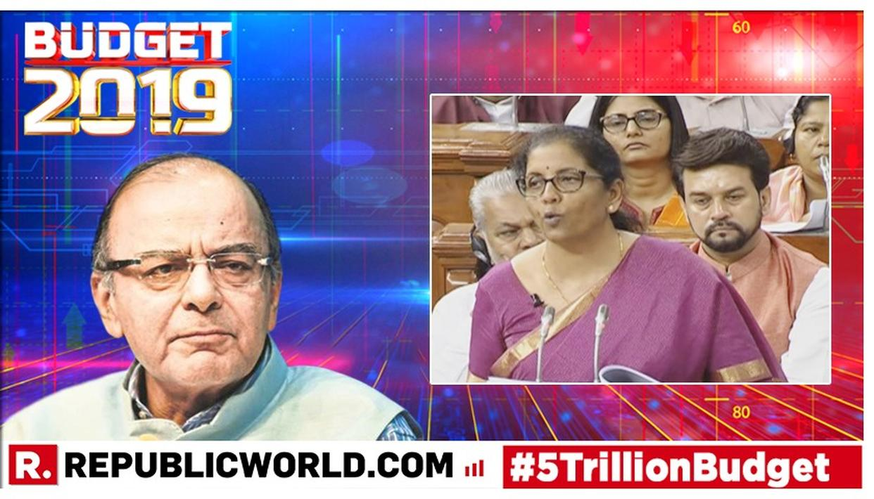 FORMER FINANCE MINISTER LAUDS UNION BUDGET 2019, SAYS 'THE ASPIRATIONAL BUDGET IS THE KEY TO GET INDIA BACK ON TRACK TO ACCELERATE GROWTH'