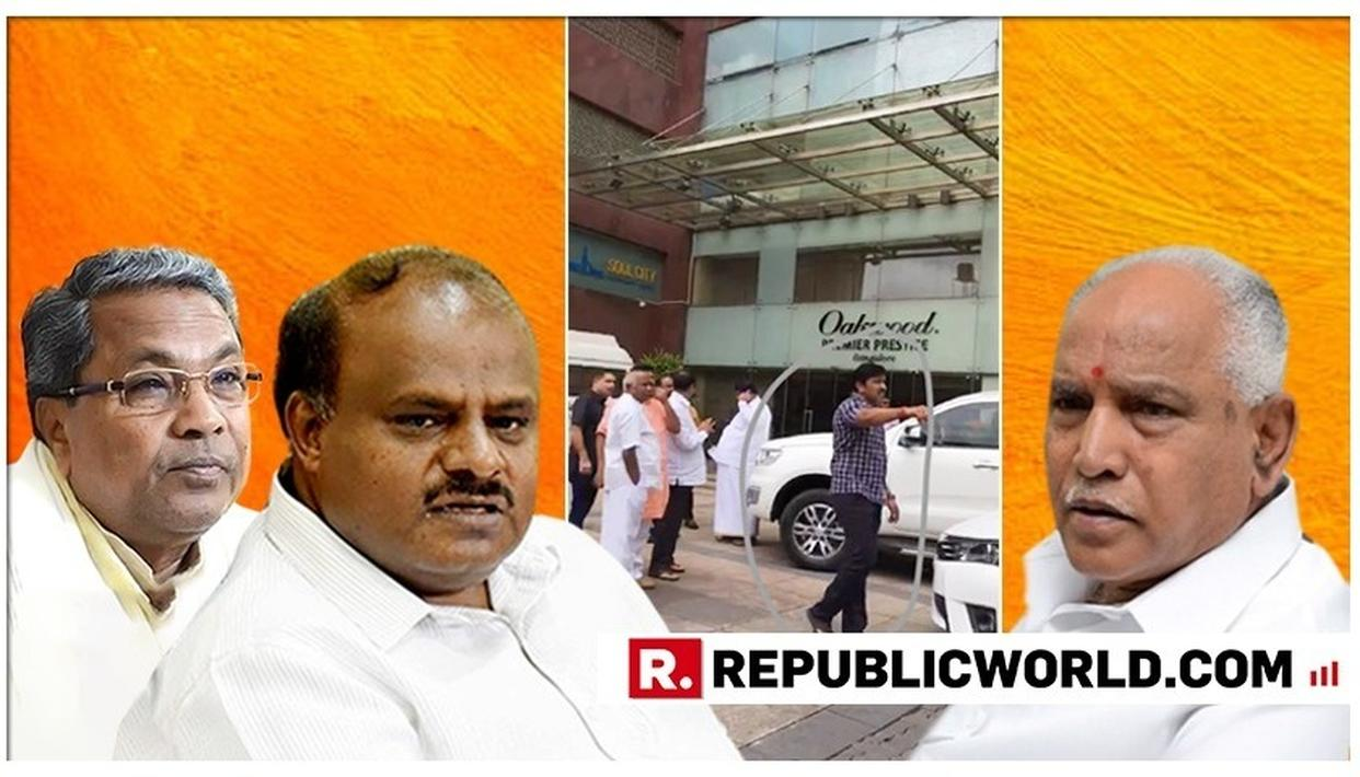 KARNATAKA POLITICAL CRISIS SCOOP: YEDDYURAPPA'S AIDE SEEN WITH FORMER JD(S) STATE CHIEF WHO HAS ALSO RESIGNED IN THE MASS EXODUS
