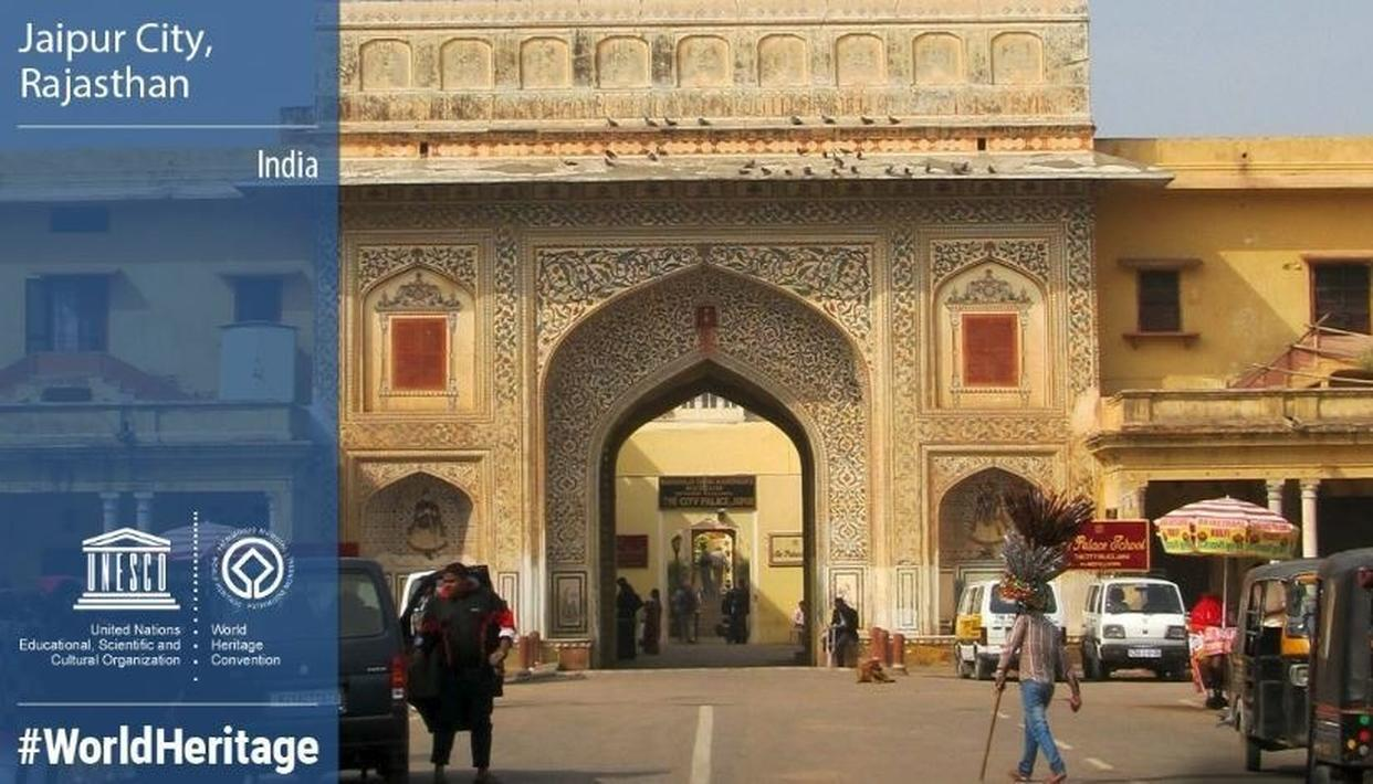 JAIPUR INCLUDED IN THE LIST OF UNESCO'S WORLD HERITAGE SITES, PM NARENDRA MODI EXPRESSES DELIGHT