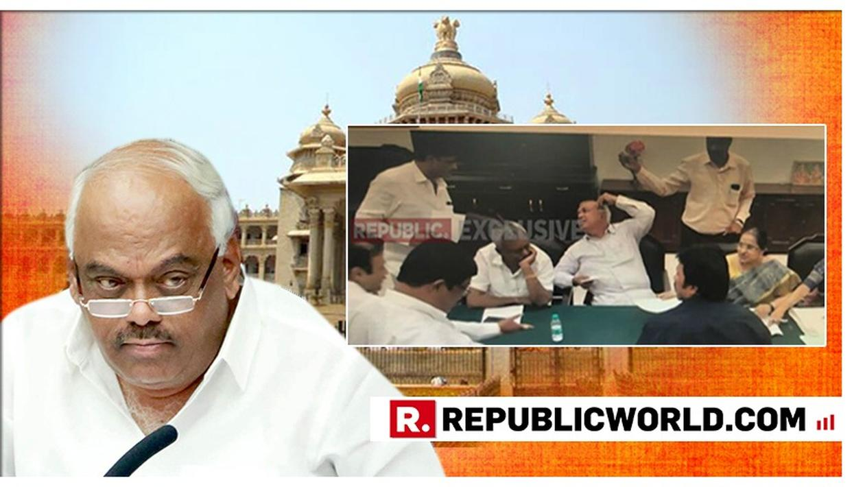 KARNATAKA POLITICAL CRISIS: 11 MLAS' RESIGNATION LETTERS IN HIS INBOX, KARNATAKA SPEAKER UPDATES THAT HE'LL RETURN TO OFFICE ON TUESDAY