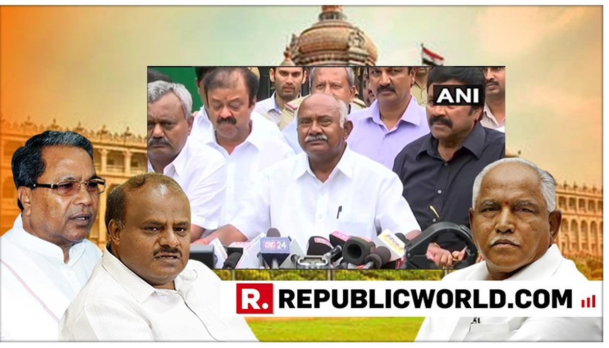 KARNATAKA CRISIS | 14 CONGRESS-JD(S) COALITION MLAS RESIGN CITING DISAPPOINTMENT WITH KUMARASWAMY GOVERNMENT