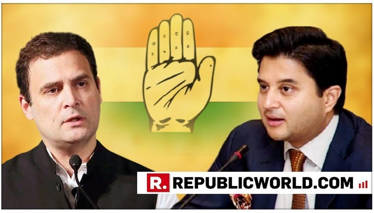 JYOTIRADITYA SCINDIA QUITS AS AICC GENERAL SECRETARY, THANKS RAHUL GANDHI FOR GIVING HIM THE OPPORTUNITY TO SERVE THE PARTY
