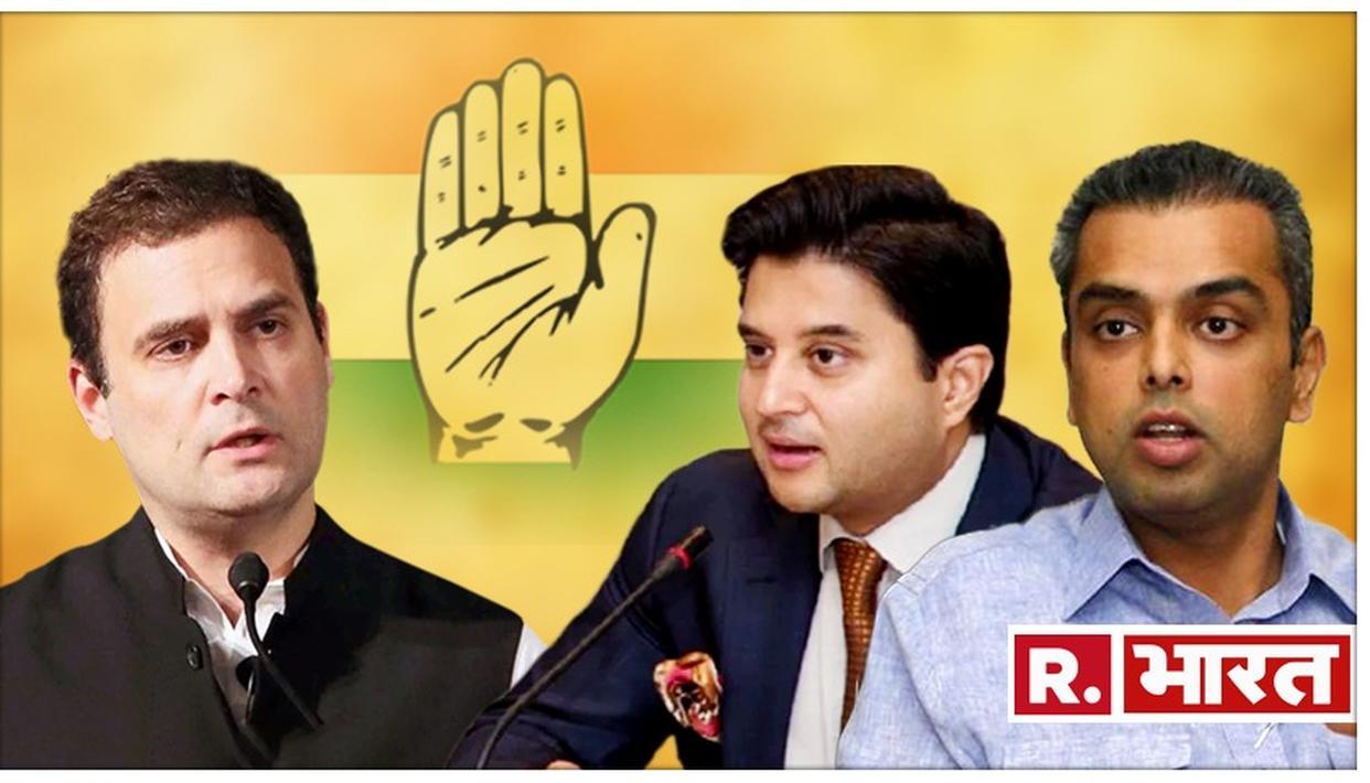 कांग्रेस में इस्तीफे का दौर जारी, सिंधिया और मिलिंद देवड़ा ने छोड़ा अपना पद, चुनाव में हार की ली जिम्मेदारी