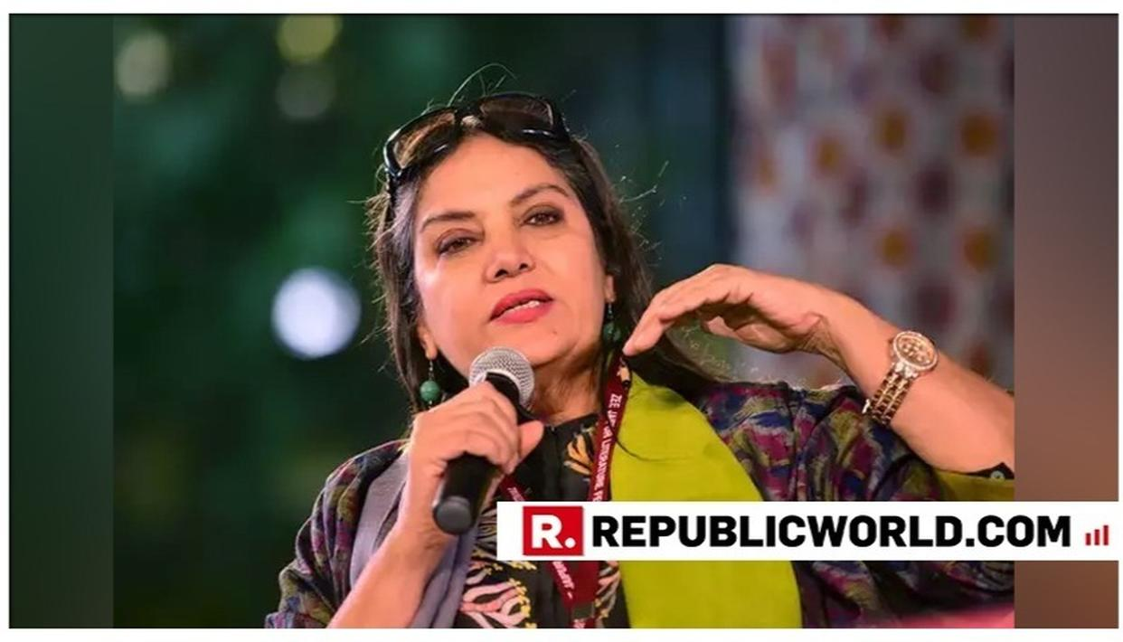 """SHABANA AZMI REIGNITES INTOLERANCE DEBATE, CLAIMS """"DISSENTERS ARE CALLED ANTI-NATIONAL"""" AND SAYS """"DON'T BE SCARED"""""""