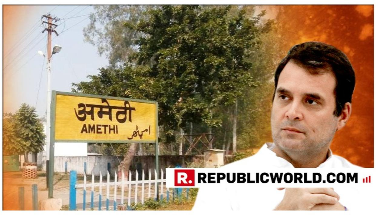BIG MOVE: DEFEATED BY SMRITI IRANI, RAHUL GANDHI TO VISIT UTTAR PRADESH'S AMETHI NONETHELESS. DETAILS HERE