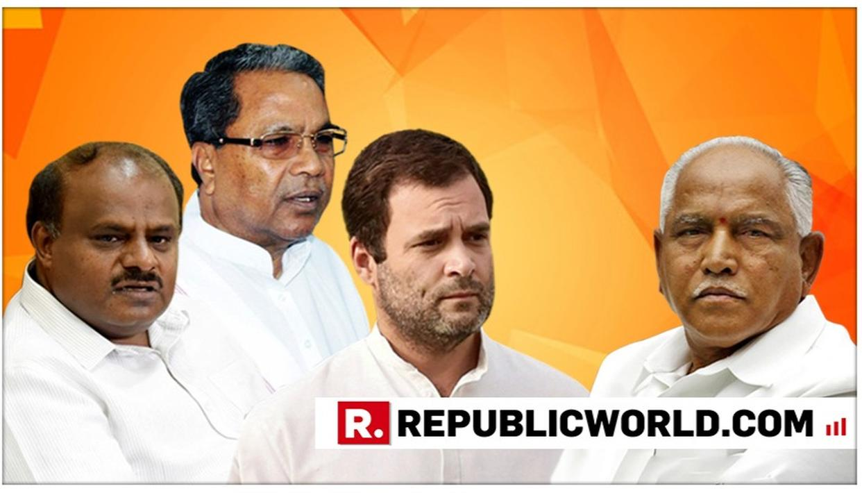 AMID KARNATAKA CRISIS, CONGRESS URGES STATE ASSEMBLY SPEAKER TO NOT ACCEPT RESIGNATIONS OF THE 13 CONG-JD(S) MLAS