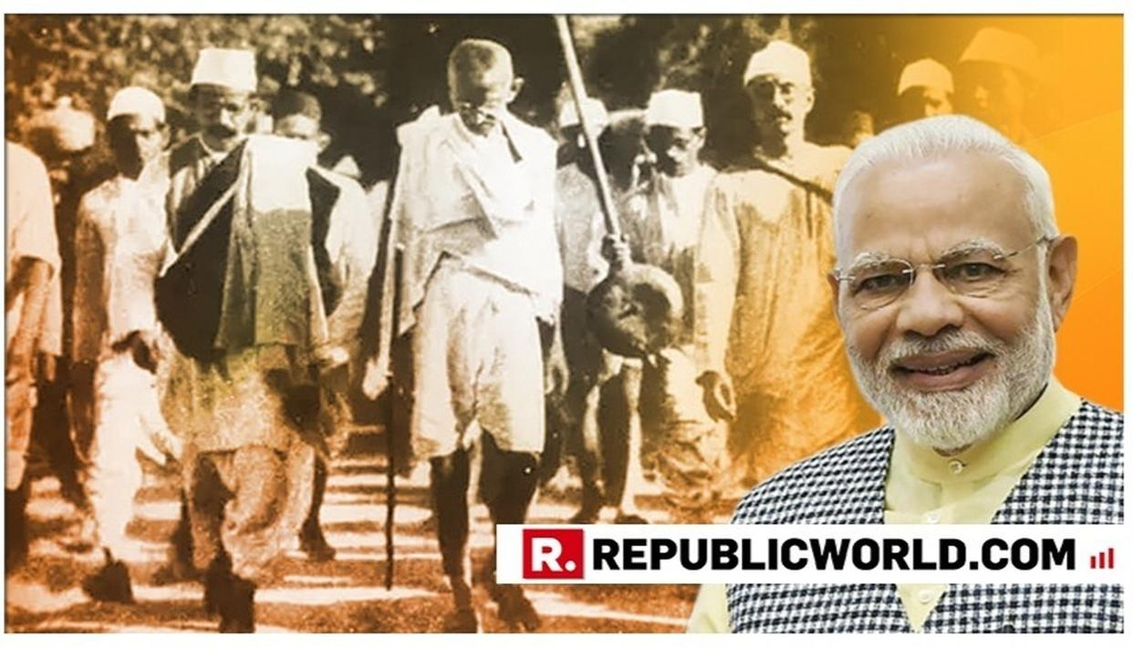 PM MODI INSTRUCTS BJP MPS TO CARRY OUT 150KM PADAYATRA BETWEEN OCTOBER 2-31 FOR 150TH BIRTH ANNIVERSARY OF MAHATMA GANDHI. DETAILS HERE