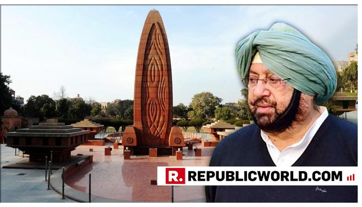 CAPTAIN AMARINDER SINGH OPPOSES BILL SEEKING REMOVAL OF CONGRESS CHIEF FROM JALLIANWALA BAGH MEMORIAL TRUST