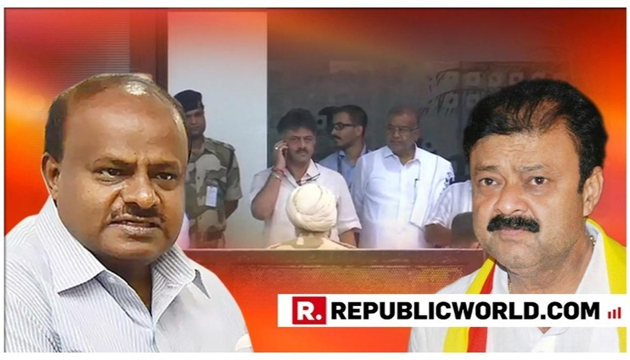 "KARNATAKA CRISIS: AHEAD OF VISITS BY CM HD KUMARASWAMY, DK SHIVAKUMAR, SPOOKED REBEL MLAS APPROACH MUMBAI POLICE, SAY ""FEAR THREAT TO LIFE"""