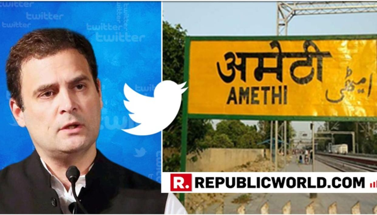 FORMER CONGRESS CHIEF RAHUL GANDHI REACHES MILESTONE ON TWITTER, SAYS 'WILL CELEBRATE IN AMETHI' AS HE VISITS HIS EX-BASTION