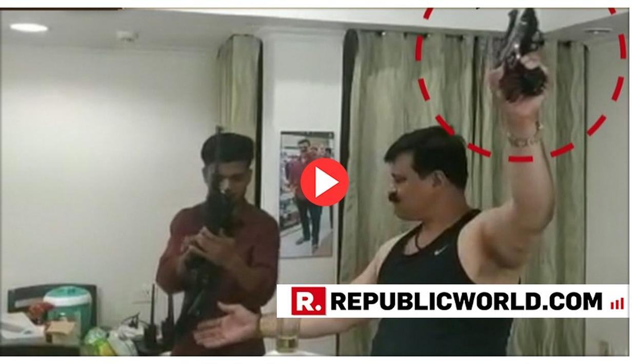 BJP TO HOLD INTERNAL PROBE INTO SHOCKING VIDEO OF MLA PRANAV CHAMPION BRANDISHING A GUN WHILE DANCING TO A KARAN-ARJUN NUMBER