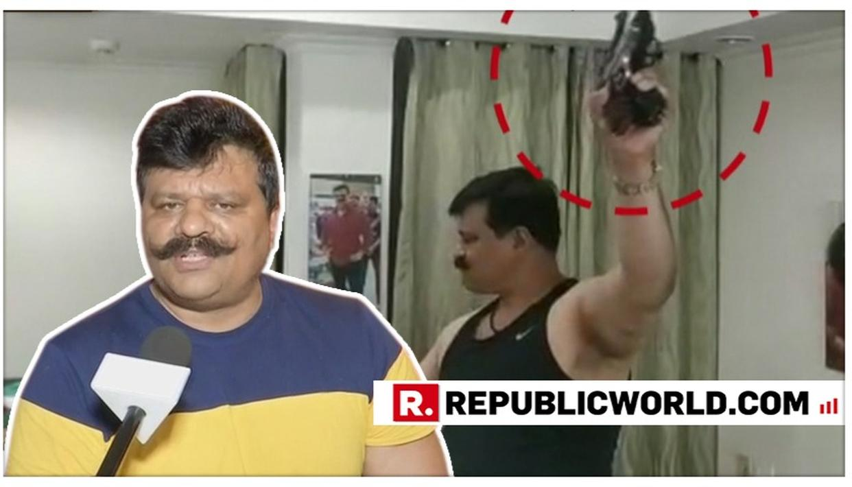 WATCH: 'IS IT A CRIME?,' ASKS GUN-TOTING SUSPENDED BJP DANCER MLA PRANAV CHAMPION BLAMING MEDIA, OPPOSITION AND EVERYONE BUT HIMSELF