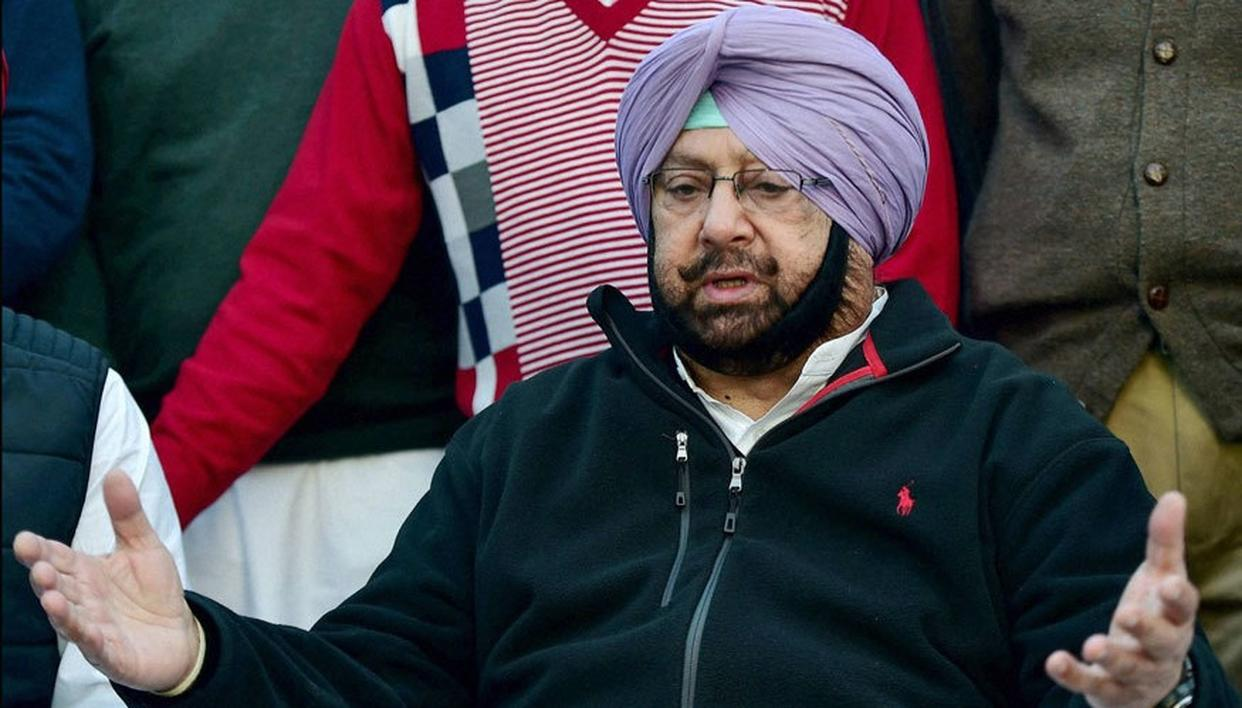 CAPTAIN AMARINDER SINGH WELCOMES CENTRE'S MOVE TO BAN SIKHS FOR JUSTICE