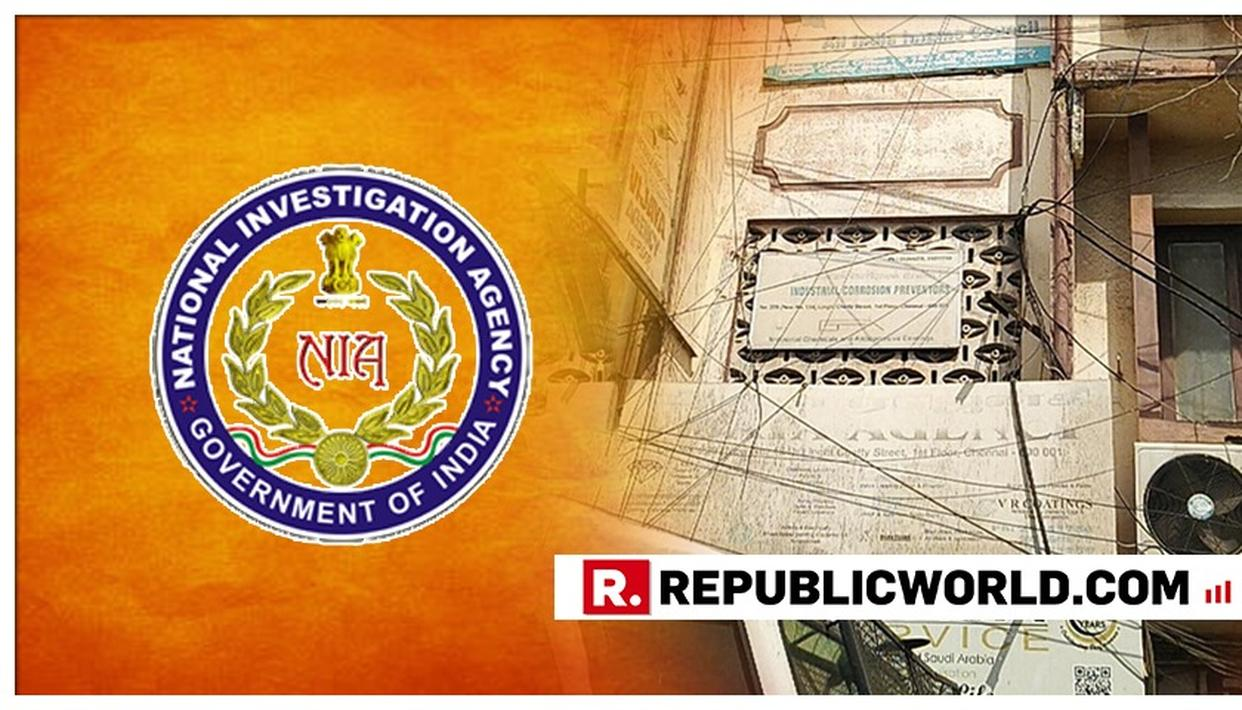 NIA CONDUCTS RAIDS IN FOUR LOCATIONS IN TAMIL NADU ON KERALA-BASED OUTFIT AFTER TIP-OFF FROM INTELLIGENCE BUREAU