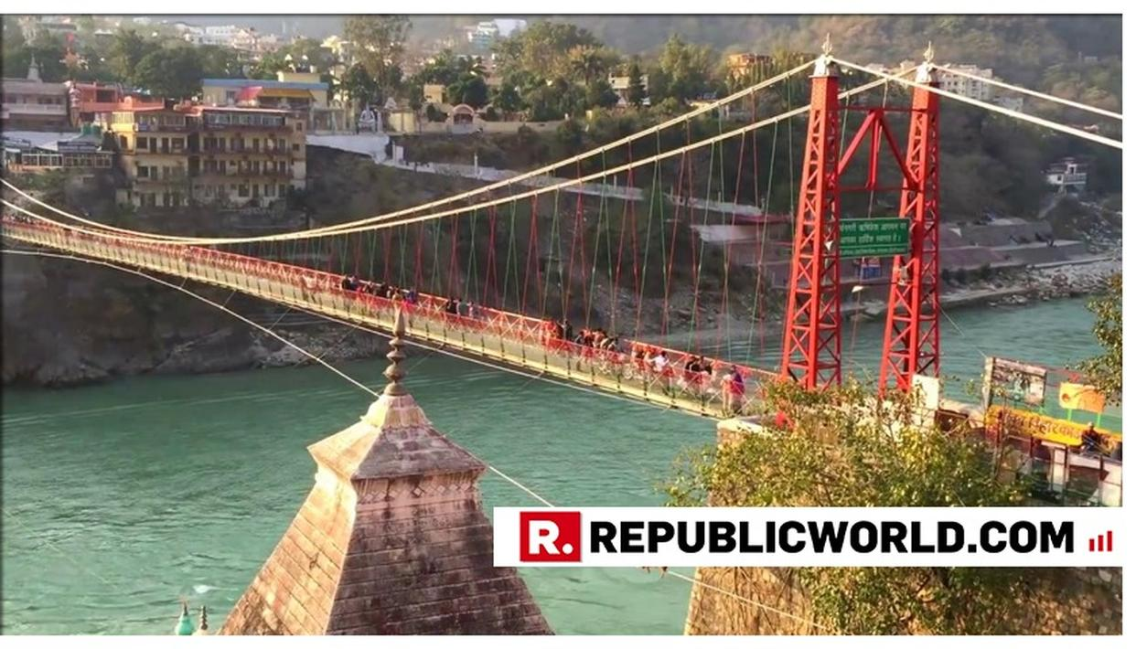 RISHIKESH'S ICONIC 'LAKSHMAN JHULA' CLOSED AFTER 90 LONG YEARS BECAUSE OF DILAPIDATED 'BEYOND REPAIR' CONDITION