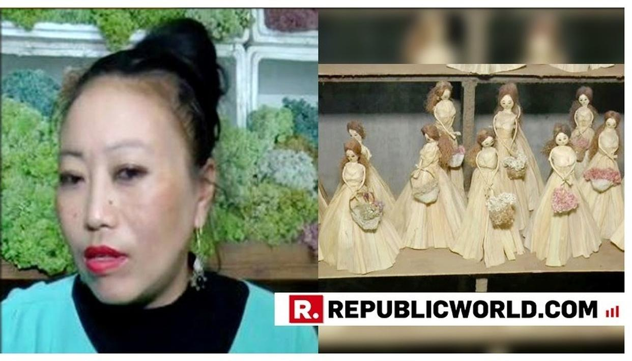 THIS MANIPUR FLORIST IS MAKING PRETTY DOLLS USING A SURPRISE WASTE MATERIAL; HERE'S NELI CHACHEA'S STORY