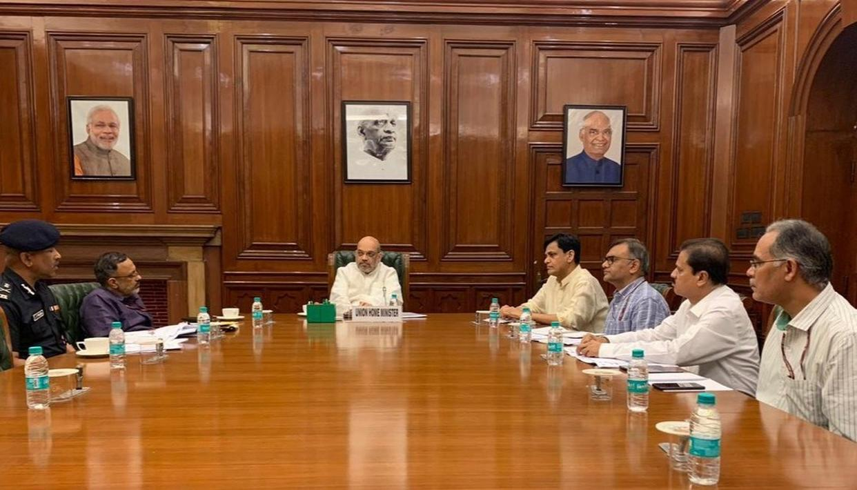 SHAH DIRECTED OFFICIALS TO BE HIGH ALERT FOR FLOODS; PROVIDE HELP TO STATES