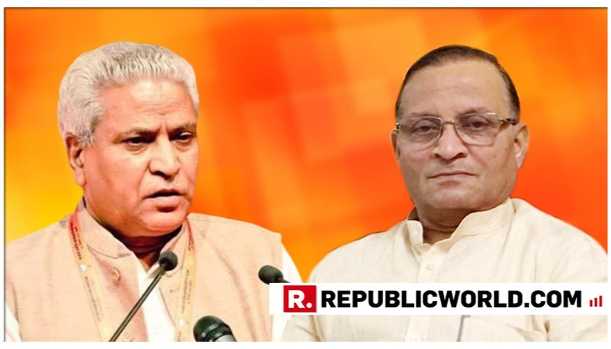 RAMLAL SENT BACK TO RSS AFTER 13-YR STINT, V SATISH LIKELY TO REPLACE HIM IN KEY BJP POST