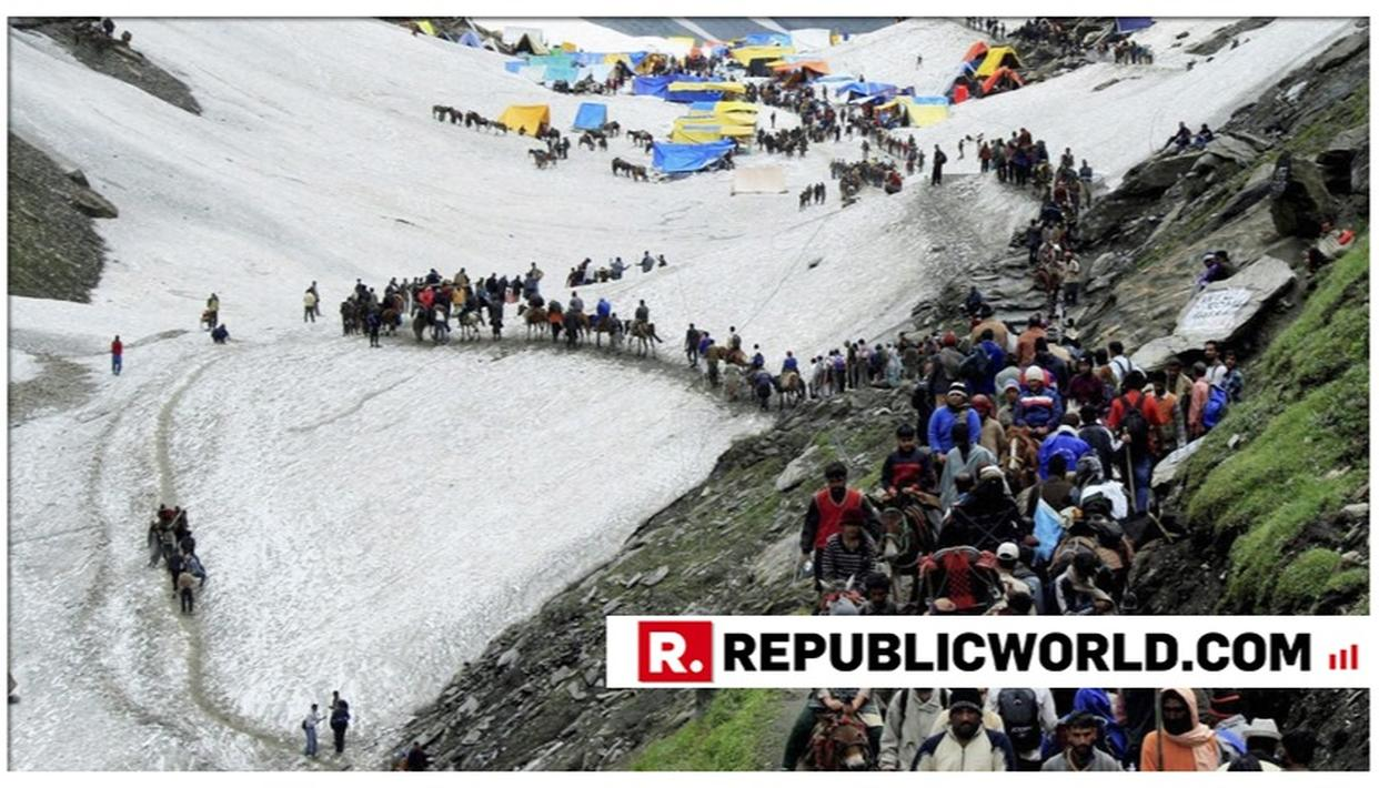 AMARNATH YATRA RESUMES FROM JAMMU, BIGGEST BATCH OF 7,993 PILGRIMS LEAVES FOR KASHMIR