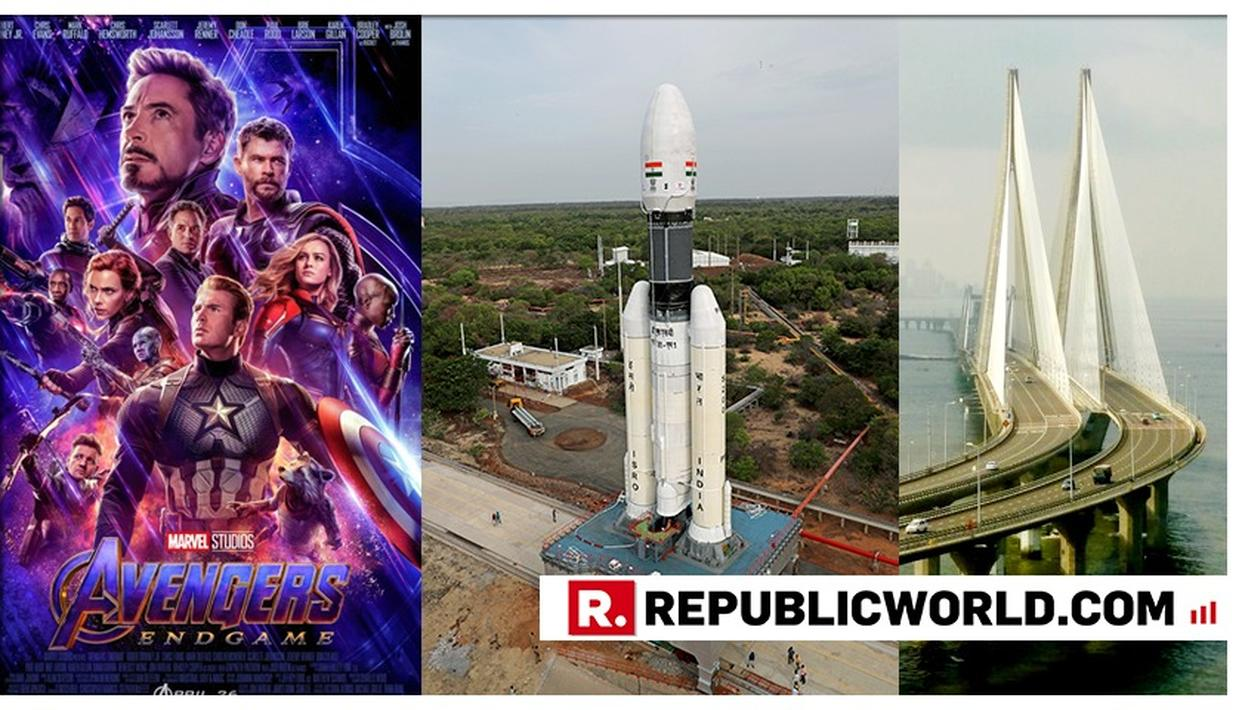 CHANDRAYAAN 2: INDIA'S LUNAR MISSION IS CHEAPER THAN AVENGERS' ENDGAME AND BANDRA WORLI SEA LINK