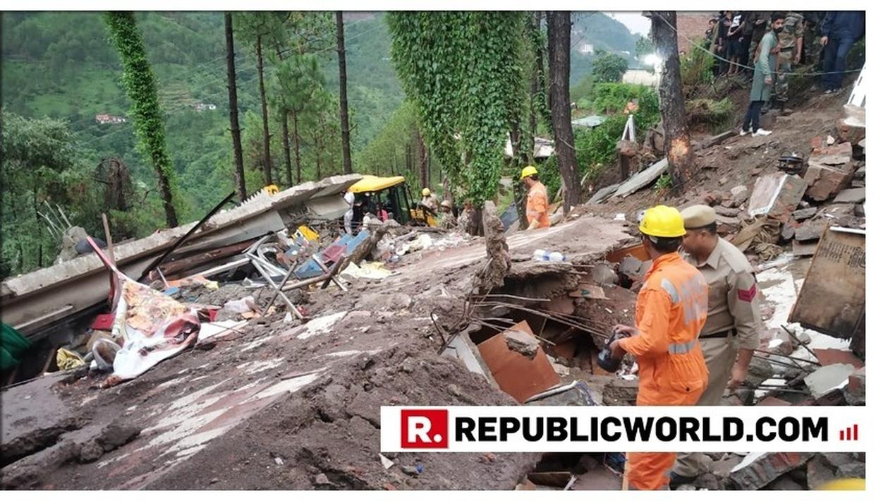 Building collapses in Himachal Pradesh's Solan killing 2, NDRF undertakes rescue operations
