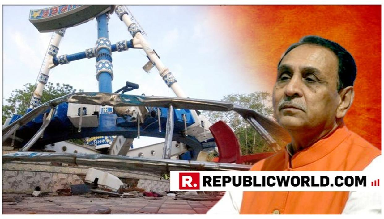 AHMEDABAD AMUSEMENT PARK RIDE COLLAPSE: GUJARAT CM VIJAY RUPANI ASSURES STRICT MEASURES STATE-WIDE