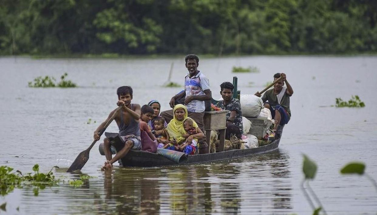 FLOODS UPDATE: ASSAM & BIHAR BROUGHT TO A STAND-STILL AMID HEAVY RAINS AND FLOODS, DETAILS HERE