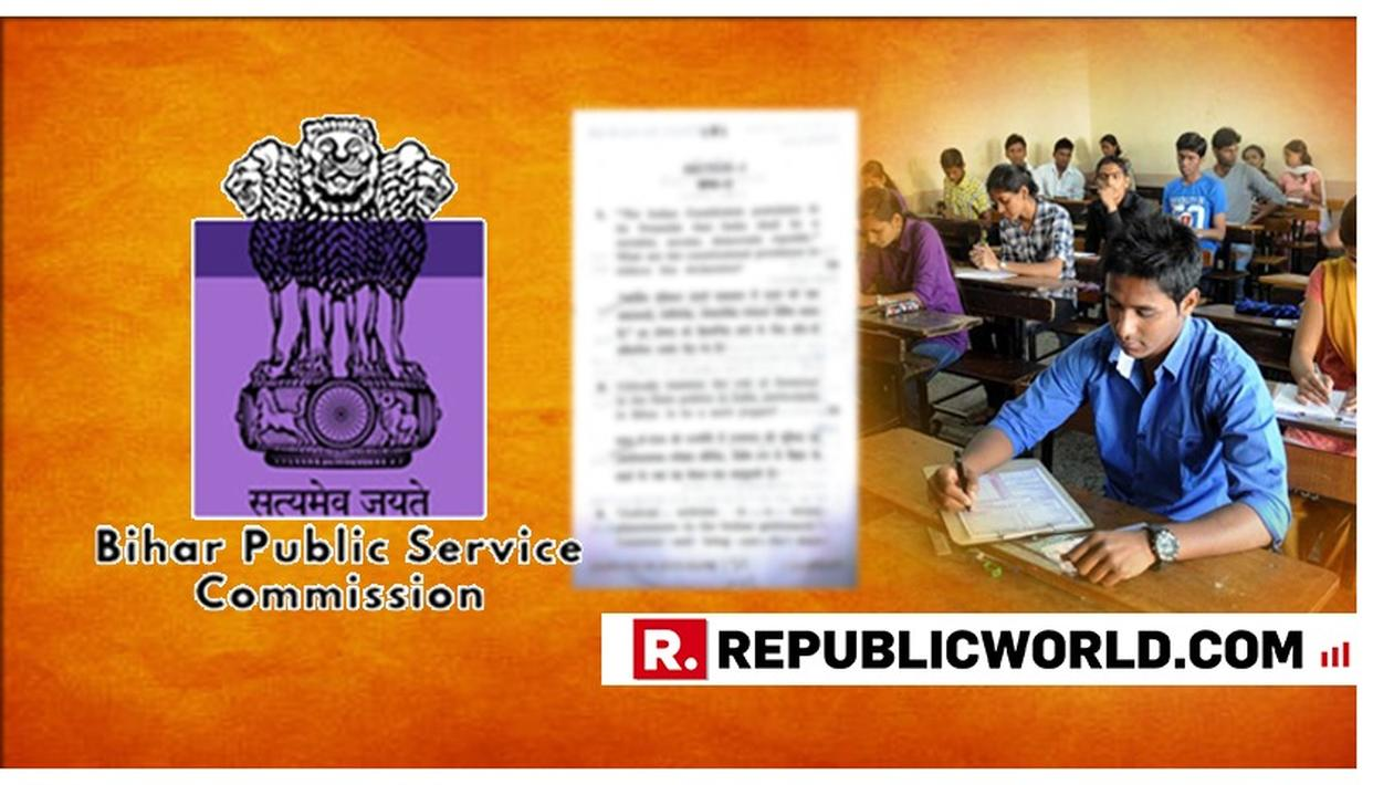 BIHAR PUBLIC SERVICE COMMISSION APOLOGISES FOR 'IS GOVERNOR A MERE PUPPET?' EXAM QUESTION, BLACKLISTS PAPER SETTER