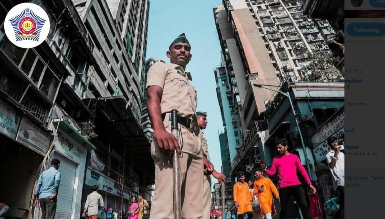 #KhakiSwag: MUMBAI POLICE GIVES SHOUTOUT TO ITS 'KHAKI-CLAD' COUNTERPARTS ACROSS THE COUNTRY