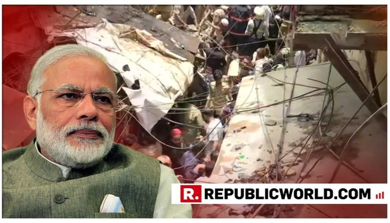 MUMBAI BUILDING COLLAPSE: PM MODI OFFERS CONDOLENCES TO FAMILIES OF THOSE WHO LOST THEIR LIVES, SAYS INCIDENT IS 'ANGUISHING'